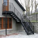 Уличная лестница 2