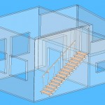 лестница зигзагообразная в доме