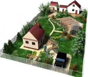 планировка загородного участка Ярославль